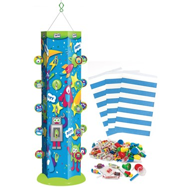 Goodie Gusher Blue Space Monsters Pinata Kit