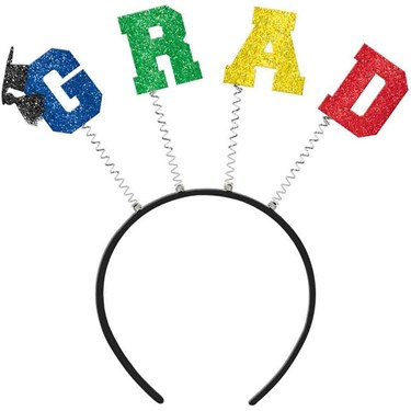 Grad Felt & Glitter Headbopper (Each)