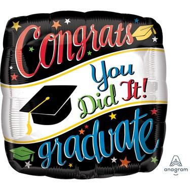 """Graduation 18"""" Foil Balloon Going Places (1)"""