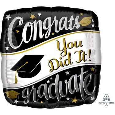 "Graduation 18"" Foil Balloon On Your Way (1)"
