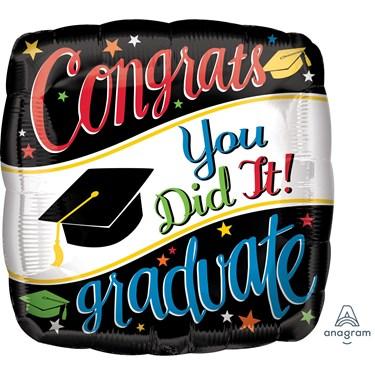 "Graduation 28"" Balloon Going Places (1)"