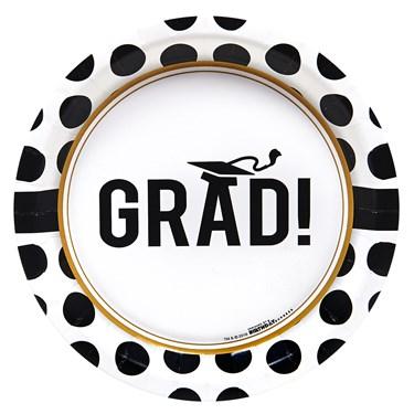 Graduation Party Dessert Plates (8)