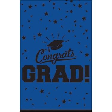 Graduation Table Cover Blue Each