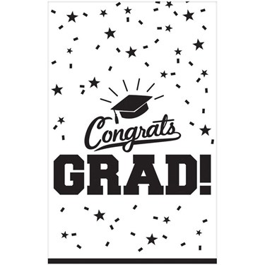 Graduation Table Cover White Each
