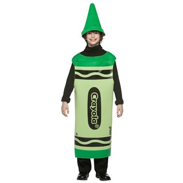 Green Crayola Tween Costume