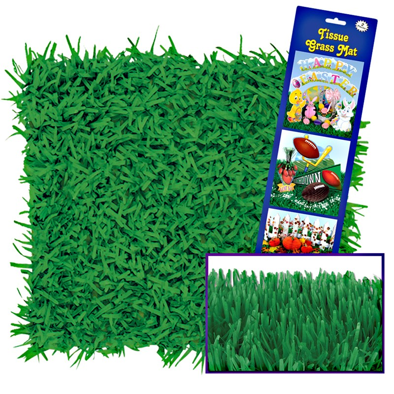 Green Grass Tissue Mats Birthdayexpress Com