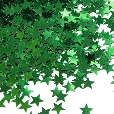 Green Stars Foil Confetti .5oz (each)