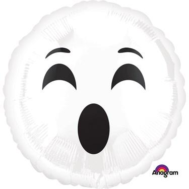 Halloween Ghost Emoji Foil Balloon