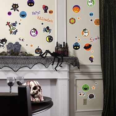 Halloween Trick or Treat Small Wall Decal