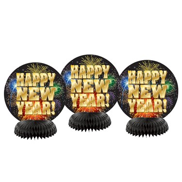 Happy New Year Honeycomb Decor (4)