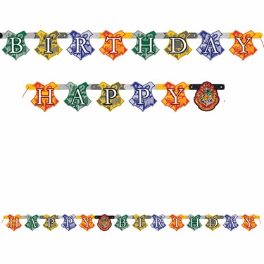 Harry Potter Jointed Letter Banner