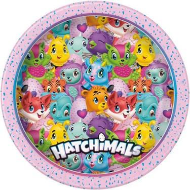 "Hatchimals 9"" Lunch Plate (8)"