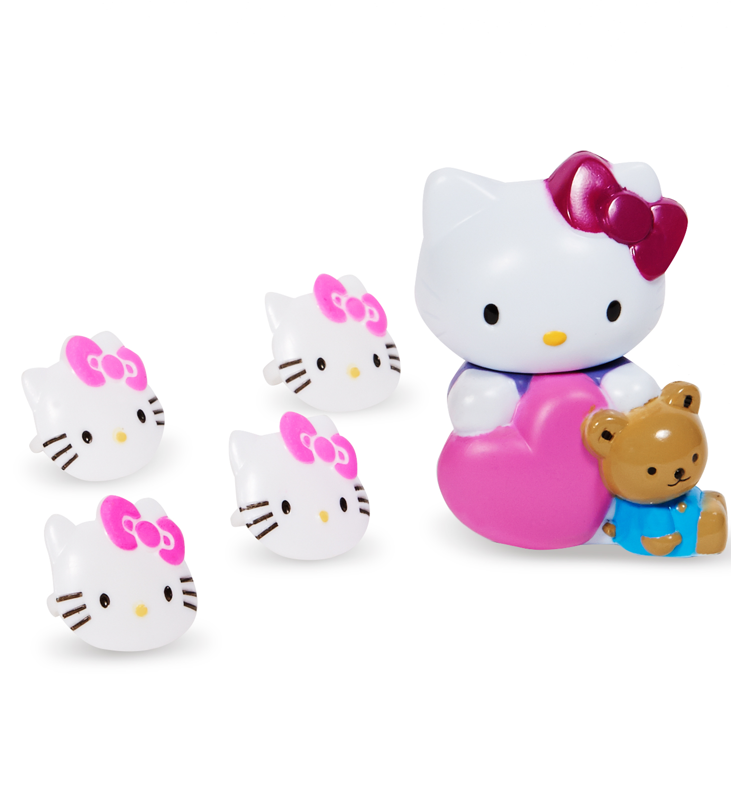Hello Kitty Cake Topper and 8 Rings BirthdayExpresscom