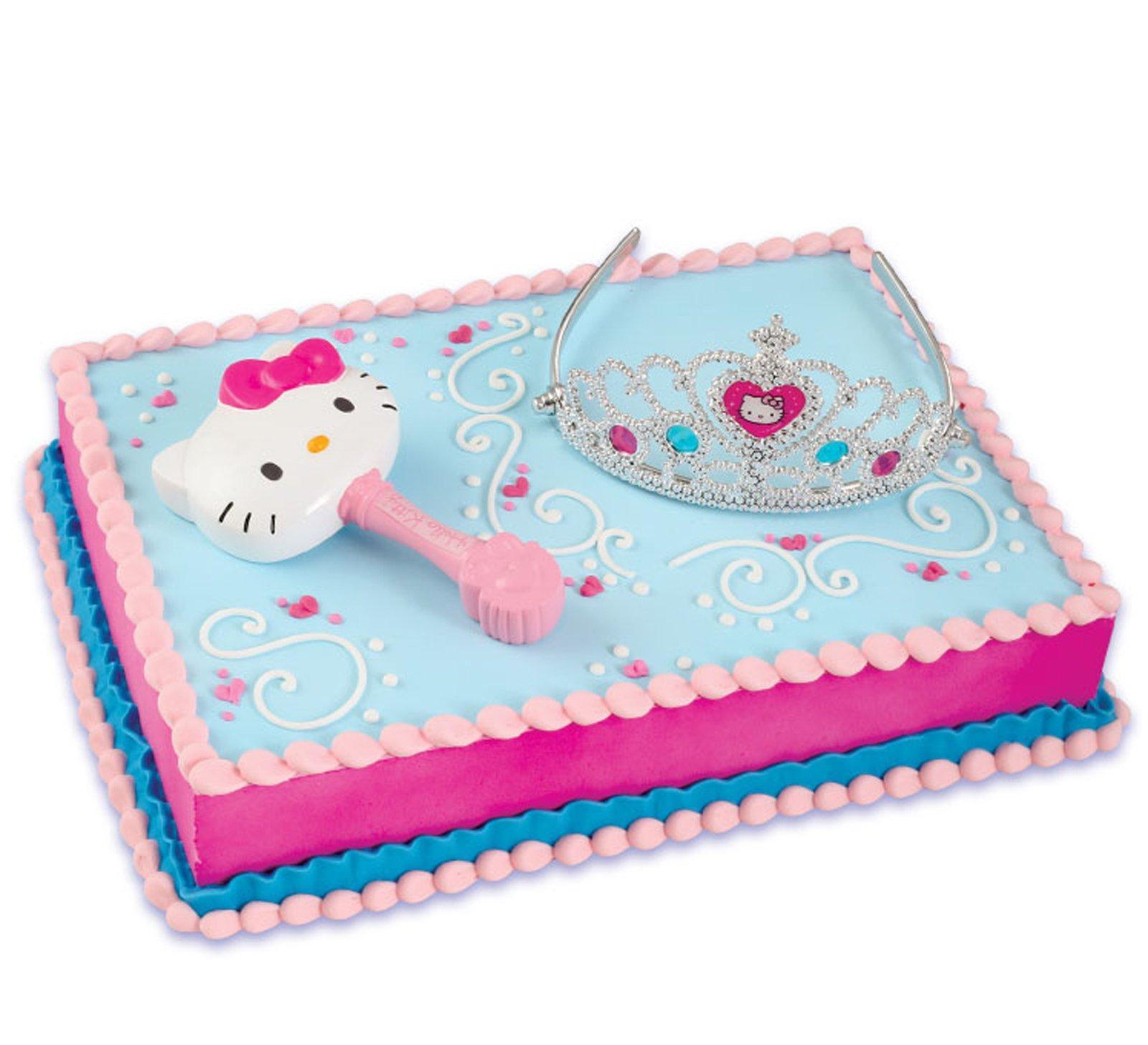Hello Kitty Princess Cake Topper 2 Pieces BirthdayExpresscom