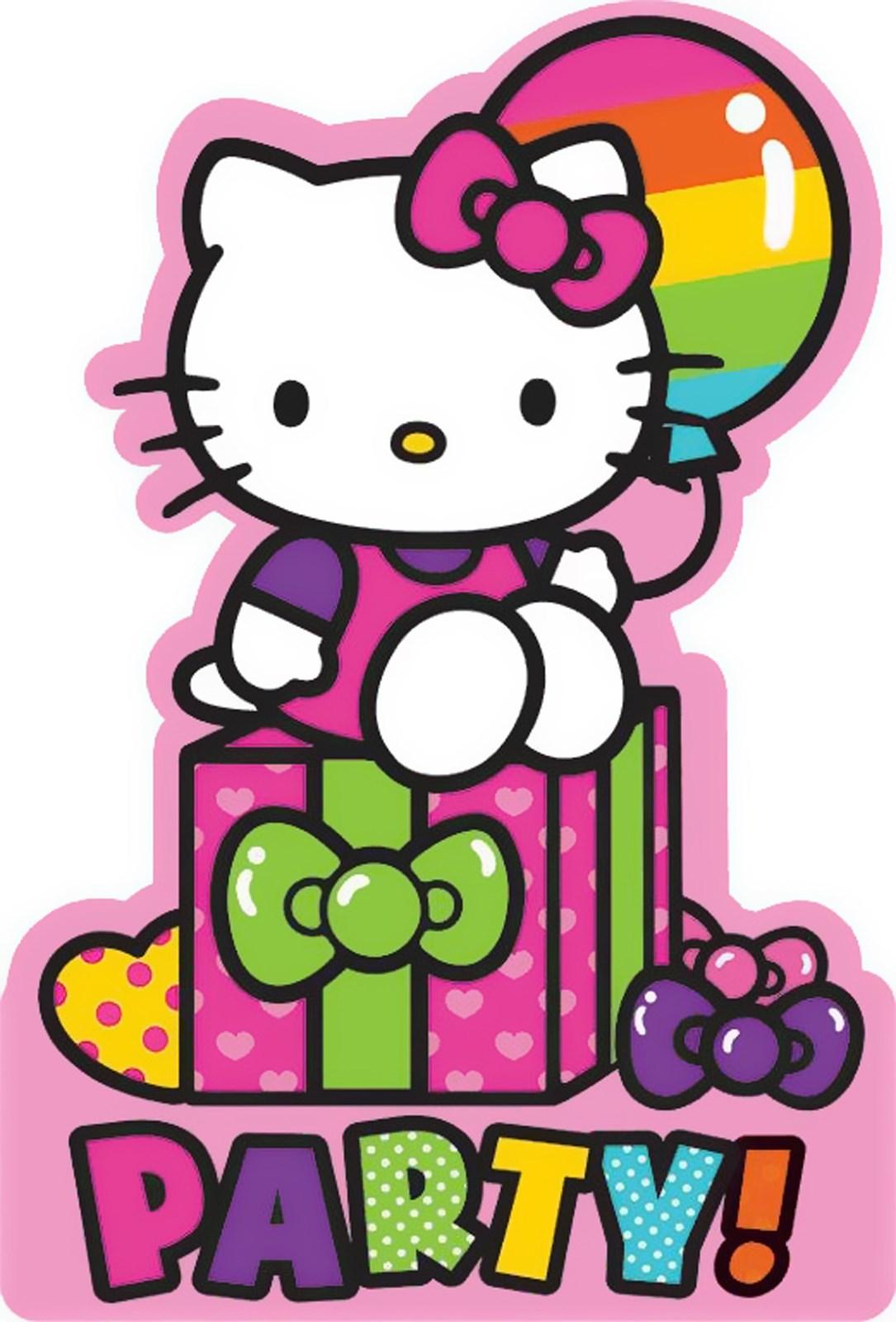 hello kitty rainbow invitations 8 birthdayexpress com default image hello kitty rainbow invitations 8