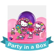 Hello Kitty Rainbow Party in a Box For 8