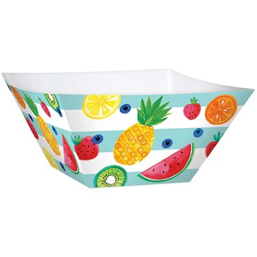 Hello Summer Large Square Paper Bowls