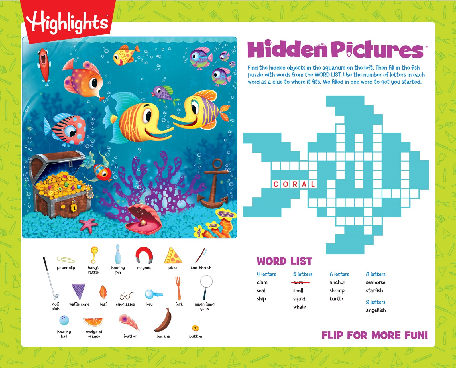 Highlights activity placemat kit for 4 birthdayexpress default image highlights activity placemat kit for 4 aljukfo Image collections