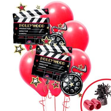 Hollywood Movie Clapboad Jumbo Balloon Bouquet