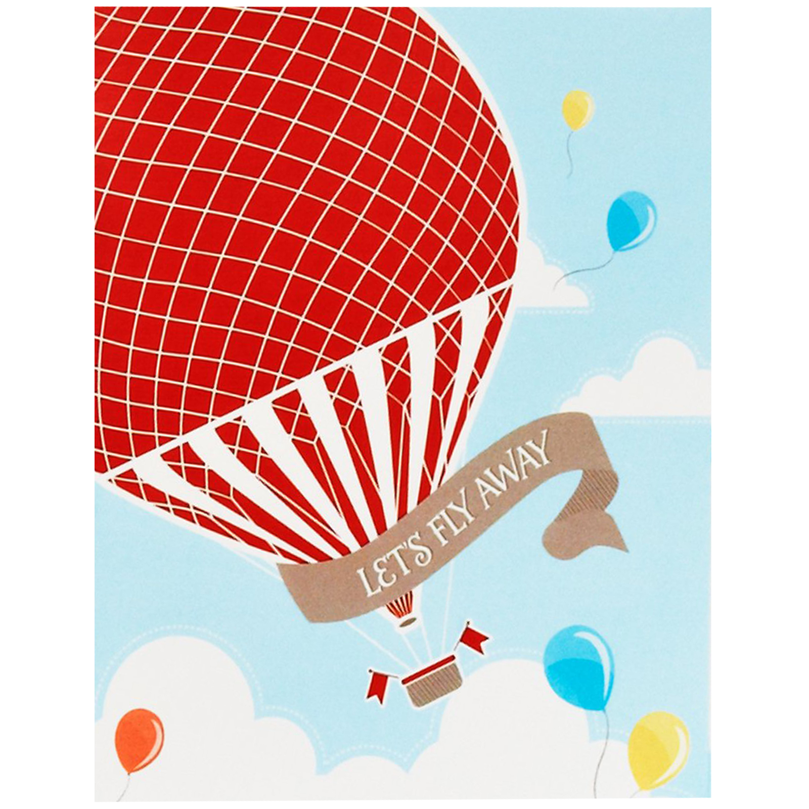 Hot Air Balloon Party Invitations BirthdayExpresscom