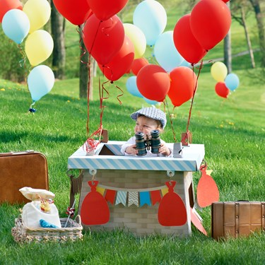 Hot Air Balloon Party Stand-In