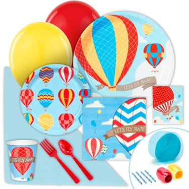 Hot Air Balloon Party Value Party Pack