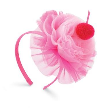 Hot Pink Cupcake Headband