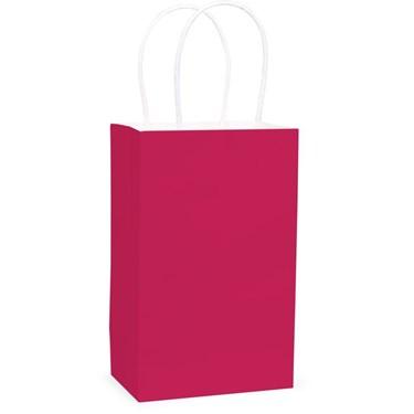 Hot Pink Favor Bag