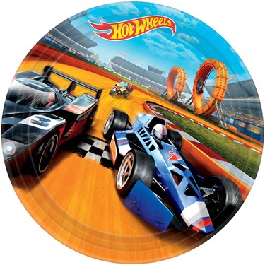 "Hot Wheels Wild Racer 9"" Luncheon Plate"