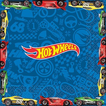 Hot Wheels Wild Racer Luncheon Napkins