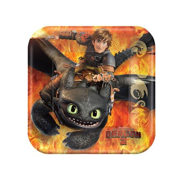 How to Train Your Dragon 2-  Dessert Plates Assorted (8)