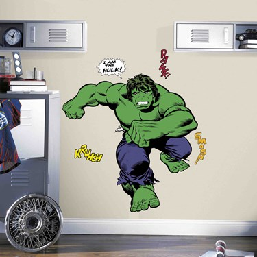 Hulk Comic Wall Decals