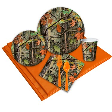 Hunting Camo 24 Guest Party Pack