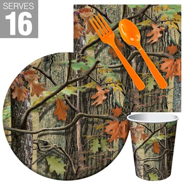 Hunting Camo Snack Party Pack For 16