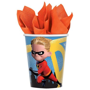 INCREDIBLES 2 9oz Cups