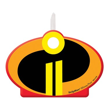 INCREDIBLES 2 Birthday Candles