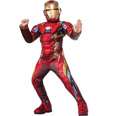 Iron Man Super Deluxe Child Costume