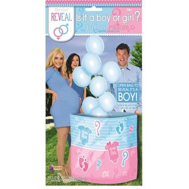 It's a Boy Balloon Release
