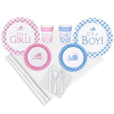 It's a Boy or Girl Party Pack (16)