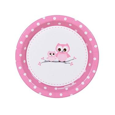 It's A Girl Dessert Plates (8)