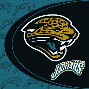 Jacksonville Jaguars Lunch Napkins