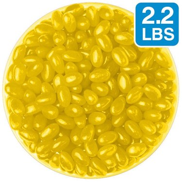 Jelly Beans: Yellow Lemon (2.2lbs Bag)