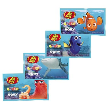 Jelly Belly Finding Dory Jelly Beans 1Oz Bag (1)