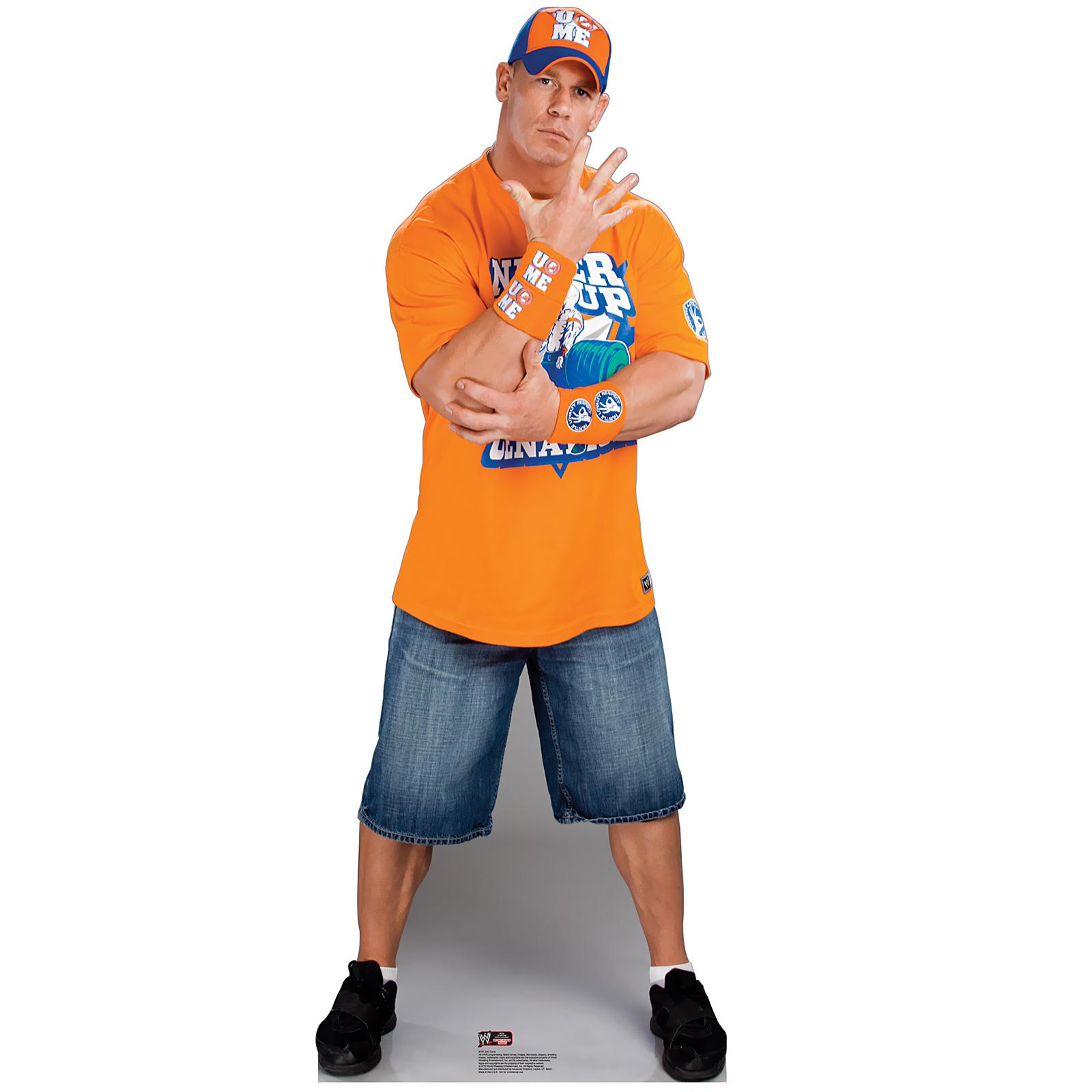 John Cena WWE Standup 6 Tall BirthdayExpresscom
