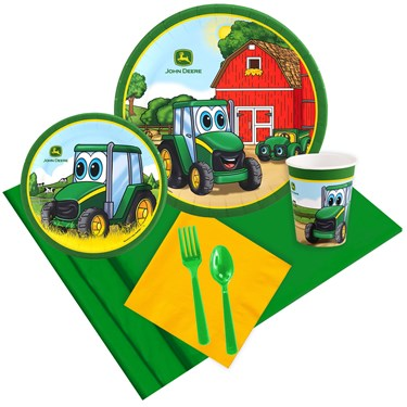 John Deere Johnny Tractor 16 Guest Party Pack