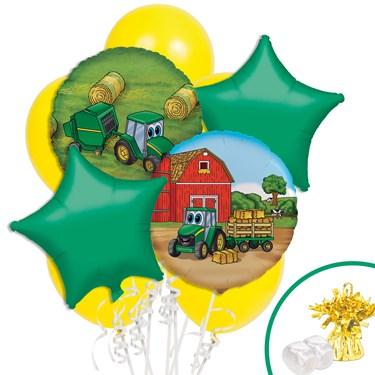 John Deere Johnny Tractor Balloon Bouquet