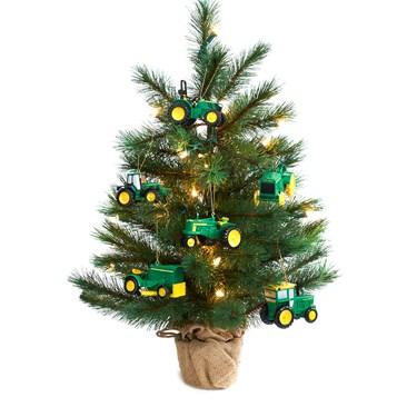 John Deere Mini Christmas Tree Kit