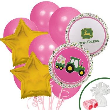 John Deere Pink Balloon Bouquet