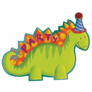 Jumbo Dino Invitations