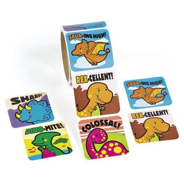 Jumbo Dinosaur Roll Stickers(1)
